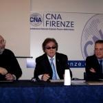 Foto Lorenzo Marchetti (centro) Cna