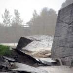 alluvione muro carrrara