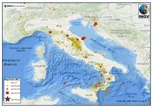 terremoti luglio 2013