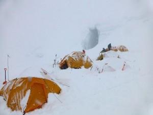 CAMPO 2 dopo nevicata a
