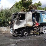 camion a fuoco