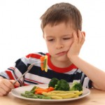 bambino verdure