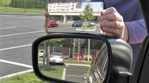 specchio retrovisore angolo cieco