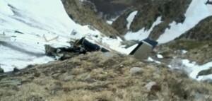 aereo caduto casarolla