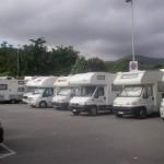 camper parcheggio