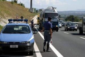 polizia autostrada 1