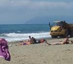spiaggia lavori