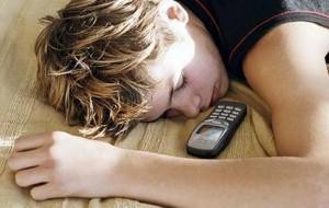 cellulare sotto il cuscino
