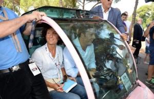Renzi a sorpresa in visita a Route scout