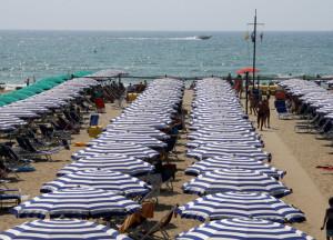 Spiaggia spiagge stabilimento balneare bagno Versilia