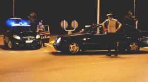 carabinieri posto blocco notte