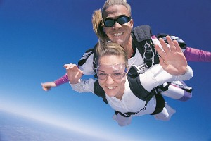 sposi paracadute