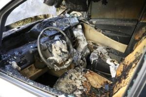 auto incendiata poggi