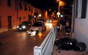 incidente aurelia moto