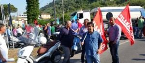 sciopero lapideo