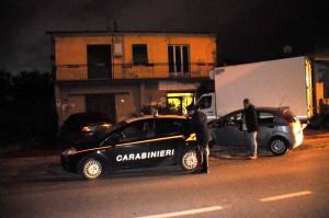 massa via marina vecchia accoltellato Giovanni Adriano Nicodemi dai ladri sorpresi carabinieri e polizia