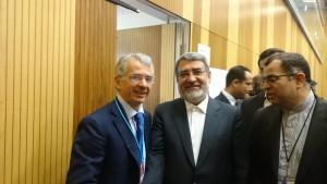 Cosimo Ferri con Ministro Iraniano