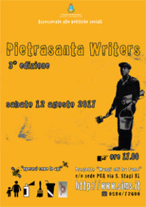 PIETRASANTA WRITER 2017