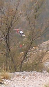incendio tambura elicottero 29 8 17