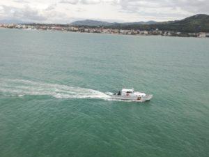 guardia costiera CP 2089 in fase ricerca
