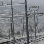 Maltempo: il gelo sulla linea ferroviaria La Spezia-Parma